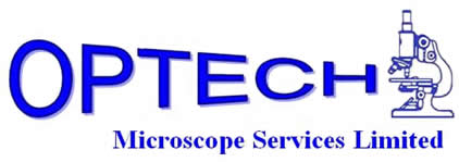 Optech Microscopes, Servicing and Maintenance of Microscopes and Mircotomes Logo